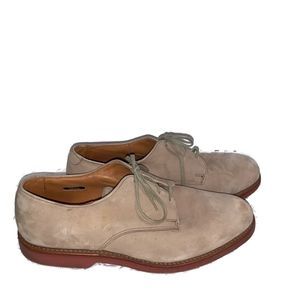 Allen Edmonds Orlean Size 10 E Tan Nubuck Shoes